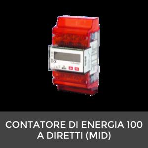 CONTATORE DI ENERGIA 100 A DIRETTI (MID)